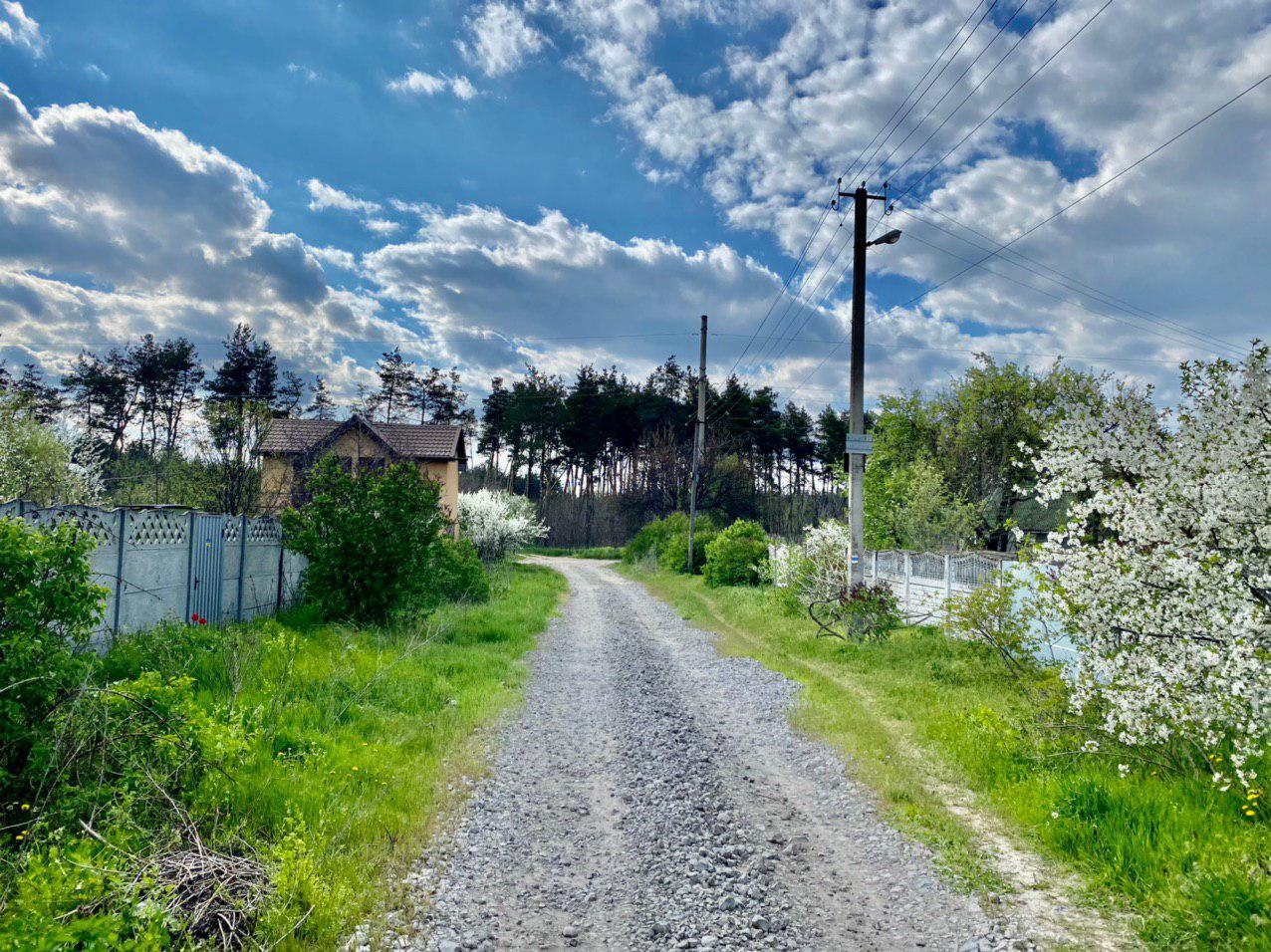 Участок ул.Чапаева возле леса